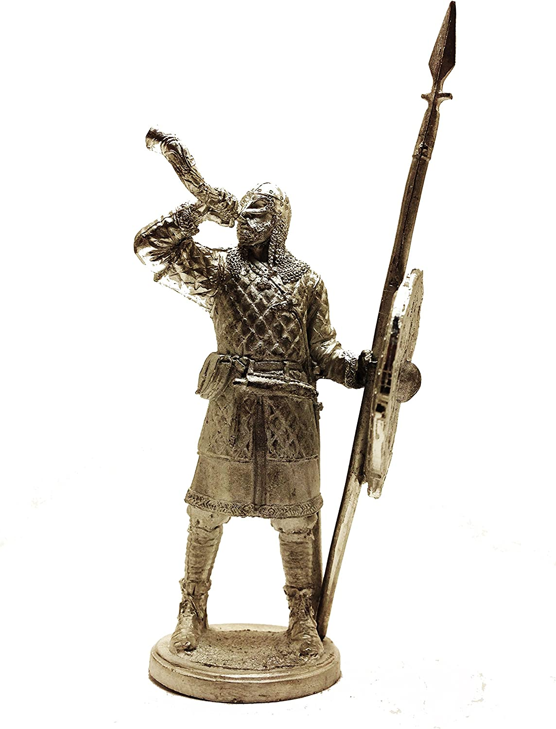 Military-Historical Miniatures Viking 9-10 Century Tin Metal 54mm Action Figures Toy Soldiers Size 1 32 Scale for Home Décor Accents Collectible Figurines Item  C5223