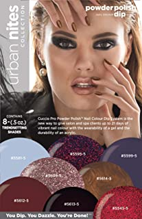 Cuccio Urban Nites Collection Nail Colour Dip System Dipping Powder Kit