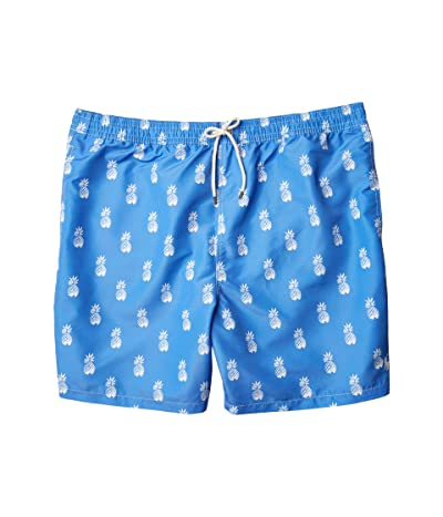 Polo Ralph Lauren Big & Tall Big Tall Traveler Swim Shorts (Bathsheba Pineapples) Men
