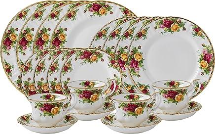 Amazon.com  Bone China - Dinnerware Sets   Dinnerware  Home   Kitchen 7c1dbce627