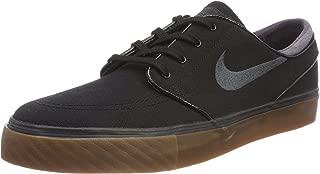 Nike SB Zoom Stefan Janoski Canvas Men's Shoes - Black/Anthracite-Gum, 10 M US
