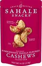 Sahale Snacks Pomegranate Vanilla Cashews Glazed Mix, 4 Ounces (Pack of 6)