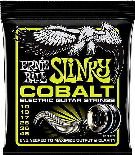 Ernie Ball 2721 Slinky Cobalt Jeu de cordes Regular 10-46