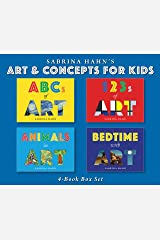 Sabrina Hahn's Art & Concepts for Kids 4-Book Box Set: ABCs of Art, 123s of Art, Animals in Art, and Bedtime with Art Hardcover