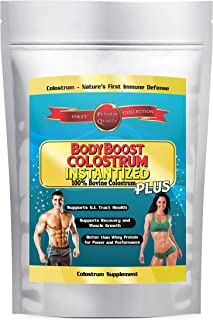 Colostrum Powder 16oz Instantized to Dissolve in Water, 100% Whole 1st Milking, Satisfaction Guaranteed
