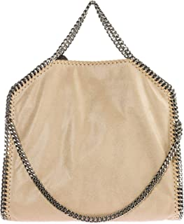 77acced071 Stella McCartney Falabella Fold Over sac à main femme beige