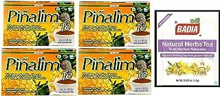 4 Boxes Te Pinalim Tea GN+Vida Weight Loss Tea Diet 120 Day Supply AND FREE Natural Herbs Slimming Tea