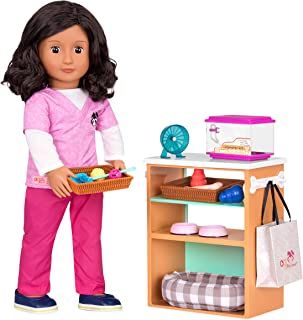 "Our Generation- Pet Store Set- Toys, Accessories & Playsets for 18"" Dolls- Ages 3 Years & Up"