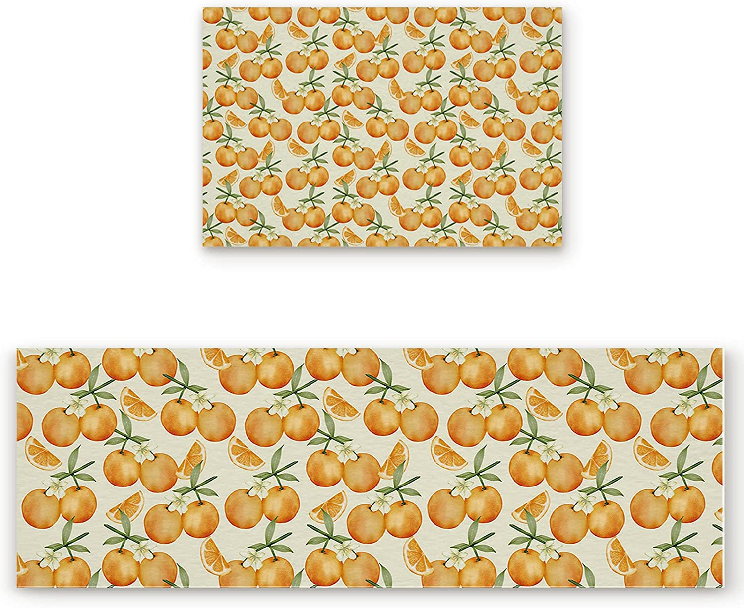 DIOMECL 2 4 years warranty Piece Kitchen Rugs and Fatigue Max 58% OFF Mats Anti Mat S
