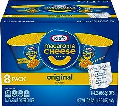 Kraft Easy Mac & Cheese Dinner Cups (2.05 oz Cups Pack of 8)