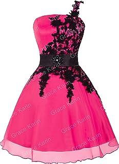 34e723d0c0b Femme Robe de Soirée Rose Rouge à Satin d Organ Taille 32 FR4288-2
