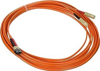 C2G / Cables to Go 13521 LC/SC Duplex 62.5/125 Multimode Fiber Patch Cable (7 Meters, Orange)