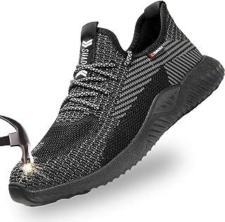 أحذية SUADEX Steel Toe للرجال والنساء أحذية العمل أحذية غير قابلة للتدمير أحذية آمنة مضادة للثقب مركبة