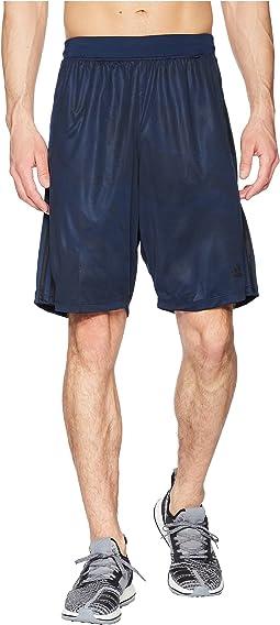 D2M Linen Camo Shorts