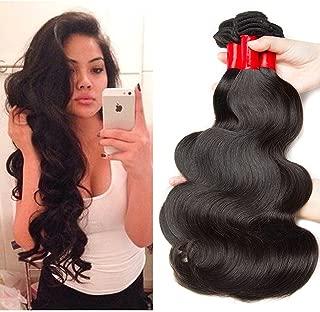 SINA Virgin Brazilian Hair Body Wave 4 Bundles 16 18 20 22 inch Human Hair 10A Full Weaves/Weft/Extensions for Black Women ON SALE