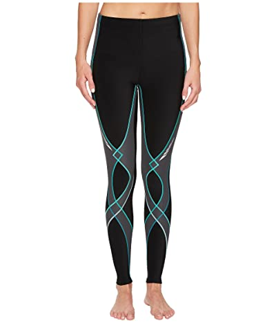 CW-X Insulator Stabilyxtm Tights (Black/Grey/Turquoise) Women