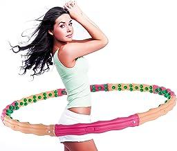hoopomania Hula Hoop banden met massagenoppen en magneten 0,72-3,1 kg