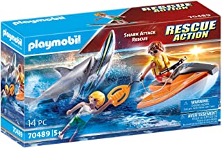 Playmobil Shark Attack and Rescue Boat