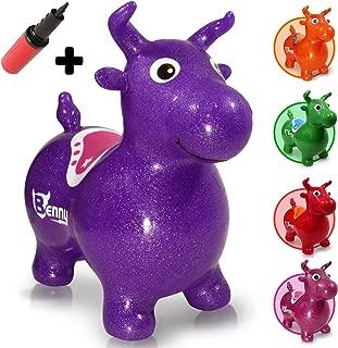 WALIKI Bouncy Horse Hopper | Benny The Jumping Bull, Purple