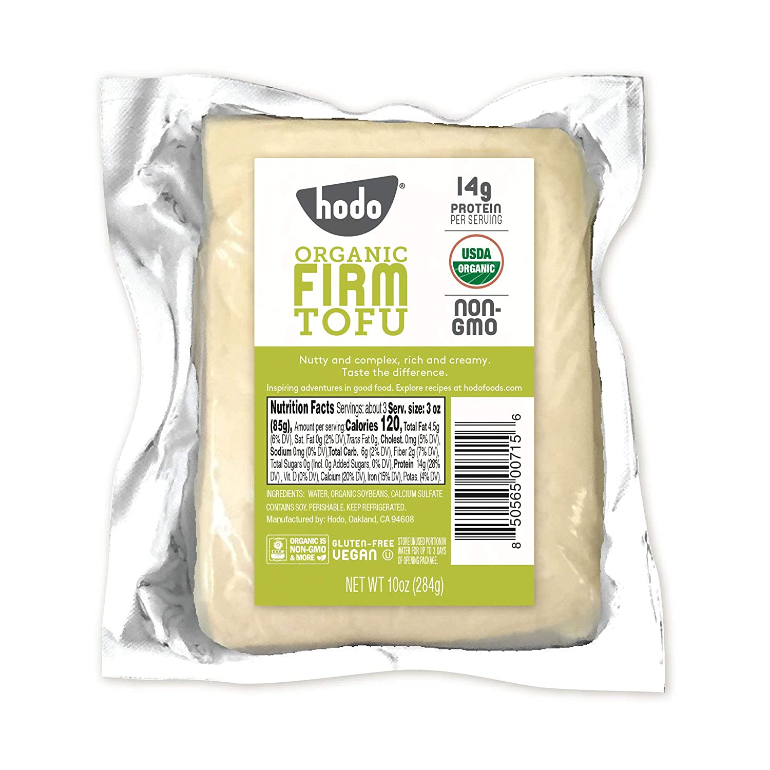 Hodo Soy Beanery Tofu Organic Firm Gorgeous Max 73% OFF Ounce 10