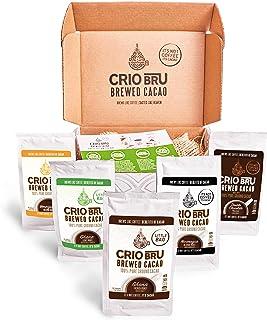 Sampler Starter Kit/ Set (5 Varieties) | Natural Healthy Brewed Cacao Drink | Great Substitute to Herbal Tea and Coffee | ...