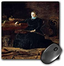 3dRose BLN Music Featured in Fine Art Collection – Antiquated Music, 1900 by Thomas Eakins Woman with Violin – MousePad (mp_171446_1)