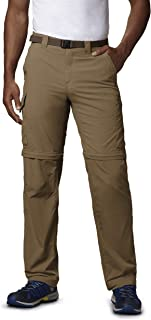 Columbia Standard Men's Silver Ridge Convertible Pant, Breathable, UPF, Delta, 34x28