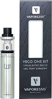 電子タバコ 爆煙 「正規品」【Vaporesso/ベポレッソ】 VECO ONE Starter kit (シルバー) ベコ ワン スターター キット おまけ付き 本体 アトマイザー セット スターター キット vepe mod