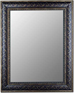Hitchcock Butterfield Bordeaux Scroll Traditional Bronze Gold Framed Wall Mirror, 58.5