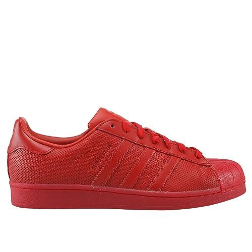 superstar adidas rouge