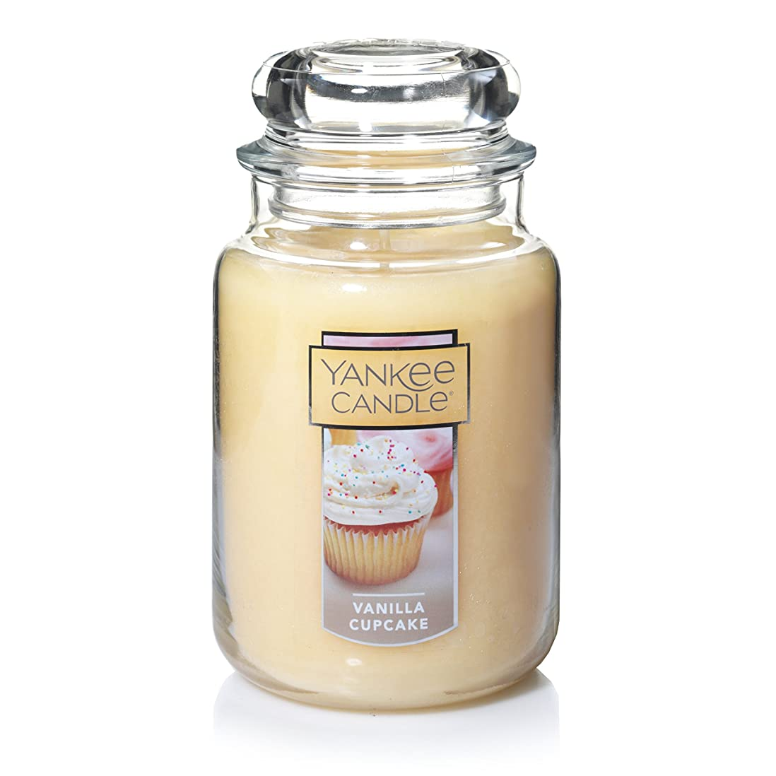 項目強要居眠りするYankee Candle Company Vanilla Cupcake Large Jar Candle by Yankee Candle