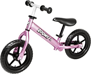 Zoomy Kids Aluminium Balance Bike. Super Light Weight. Suitable for Children from 18 Months to 6 Years.