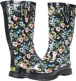 Printed Tall Rain Boot