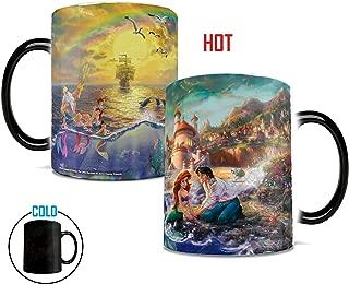 Disney - Little Mermaid - Rainbow - Morphing Mugs Heat Sensitive Mug – Image revealed when HOT liquid is added - 11oz Large Drinkware