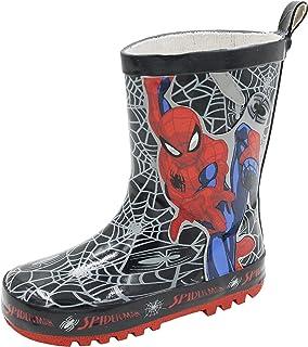 Marvel Childrens Spiderman Wellington Boots