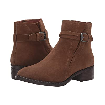 Gentle Souls by Kenneth Cole Best V-Gore Bootie (Washed Brown) Women