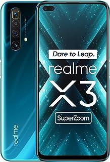 realme X3 Super Zoom - Smartphone12GB RAM + 256GB ROM, Dual Sim, Glacier Blue