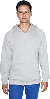 American Apparel Unisex California Fleece Long Sleeve Zip Hoodie