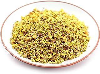 GOARTEA 100g (3.52 Oz) Organic Golden Sweet Osmanthus Fragrans Natural Dried Flower Flora Herbal Health Chinese Tea kruide...