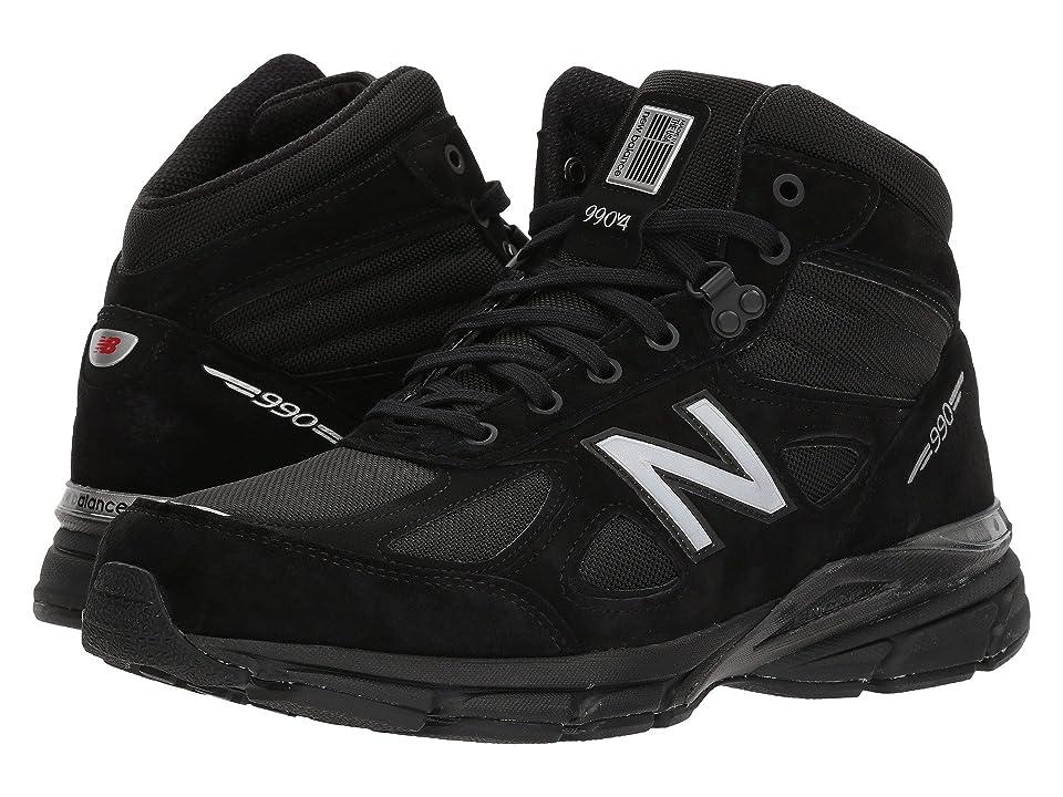New Balance 990v4 Boot (Black/Grey) Men