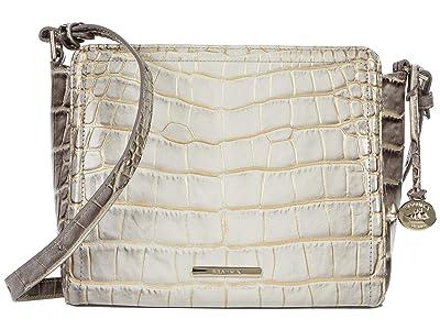 Brahmin Miravet Carrie Crossbody (Sterling) Handbags