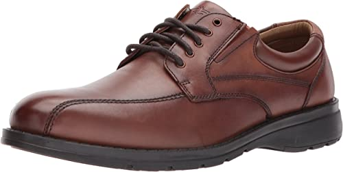 Dockers Mens Trustee 2.0 Leather Dress Casual Oxford zapatos, Dark Tan, 11.5 M