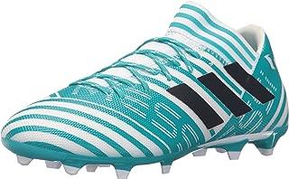 Men's Nemeziz Messi 17.3 FG Soccer Shoe, Core Black/Solar Red/Tactile Gold, 7 M US