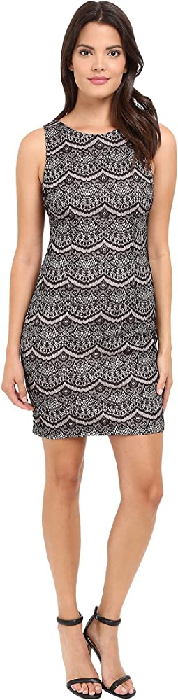 Jessica Simpson - Bonded Lace Dress