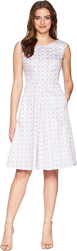 Joules Amelie Fit & Flare Dress