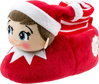 Elf on the Shelf Boys Girls Sock Top Slippers (Toddler/Little Kid)