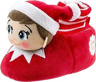 Elf on the Shelf Boys Girls Sock Top Slippers (Toddler/Little Kid)