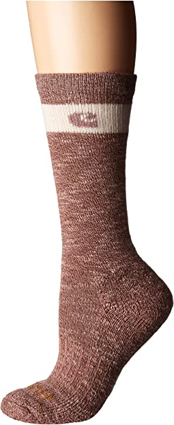 Merino Wool Blend Slub Hiker Crew Socks 1-Pair Pack