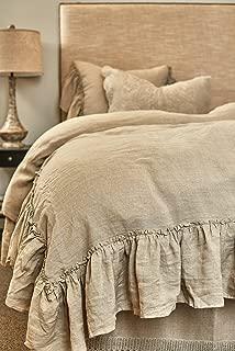 Be-You-tiful Home Amity Capri Natural Duvet Cover Set, Queen