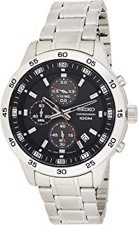 SEIKO Men's Quartz Watch, Analog Display and Stainless Steel Strap SKS641P1